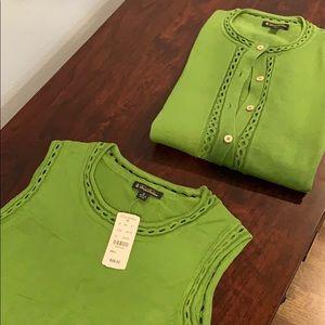 Brooks Brothers Sweater Set